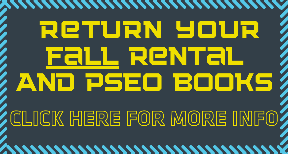 Return your Rental and PSEO Books