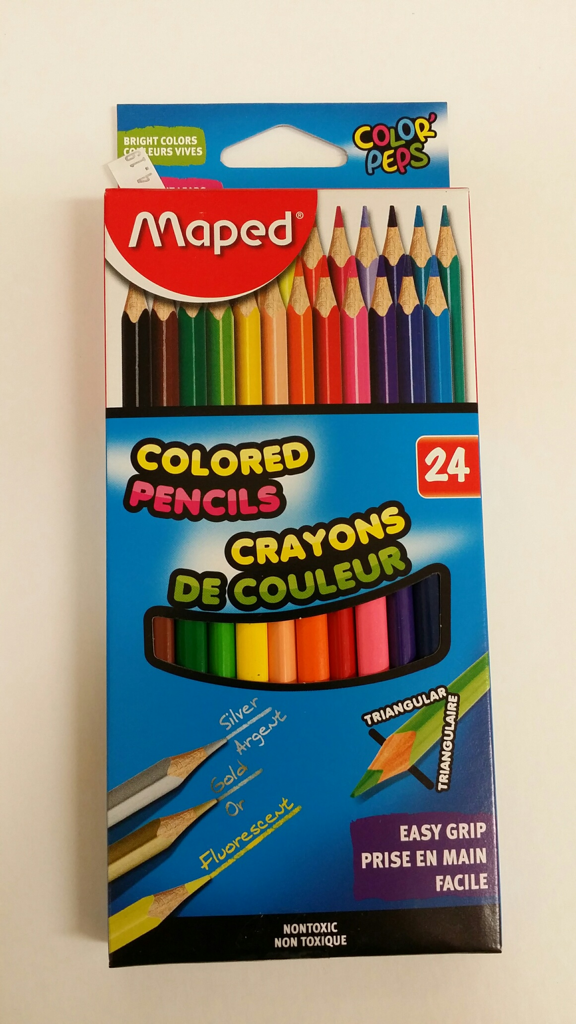 COLOR PENCIL 24 PK-TRIANG
