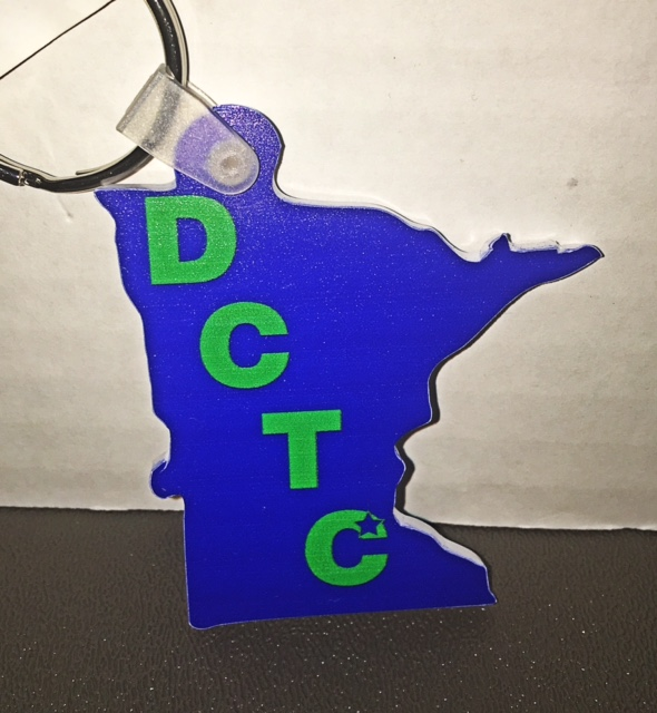 Image For DCTC KEYRING-MN SHAPE