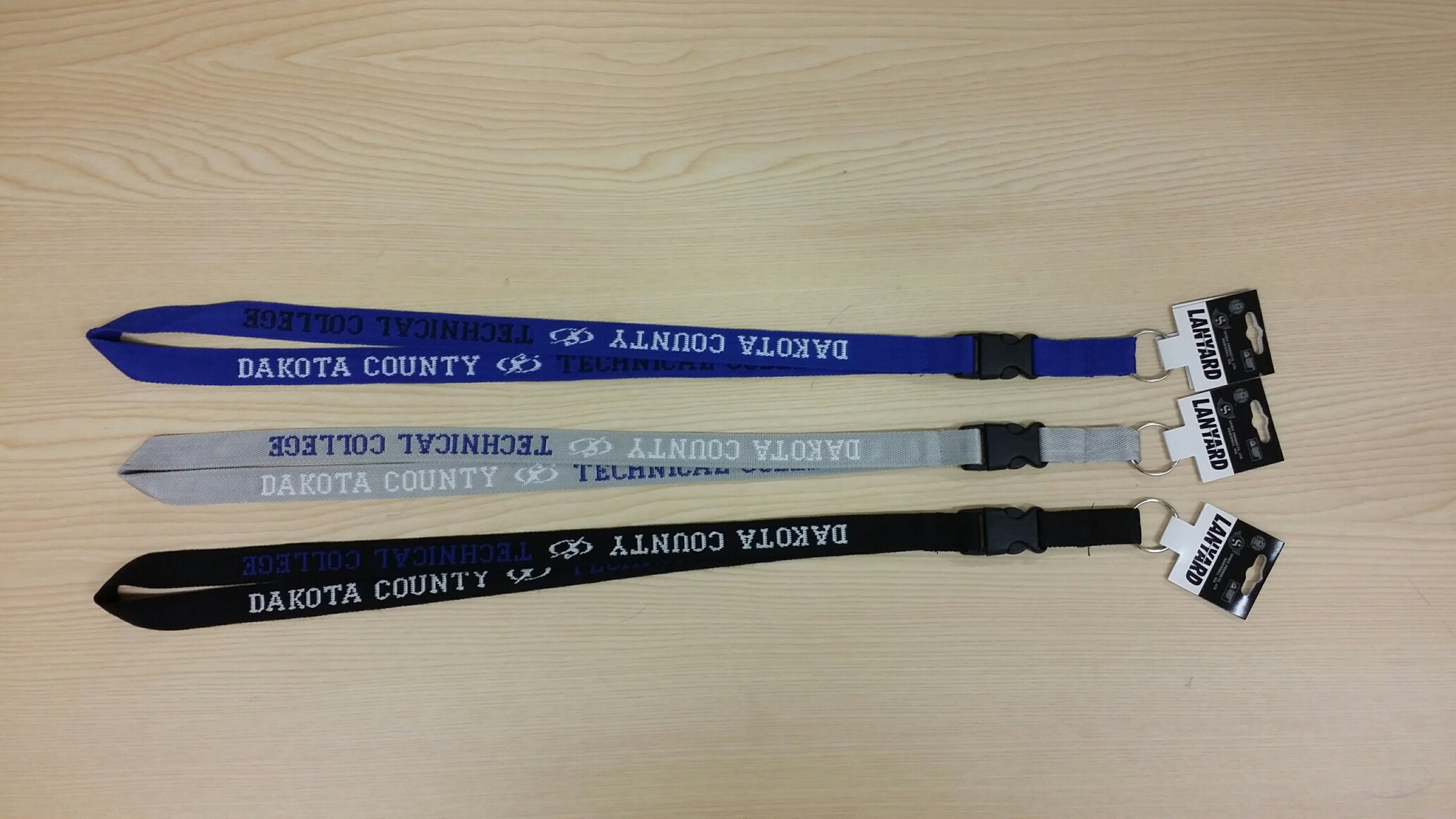 Image For DCTC LANYARD GREY
