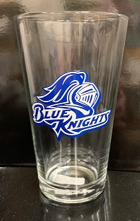 Image For BLUE KNIGHTS 16OZ GLASS