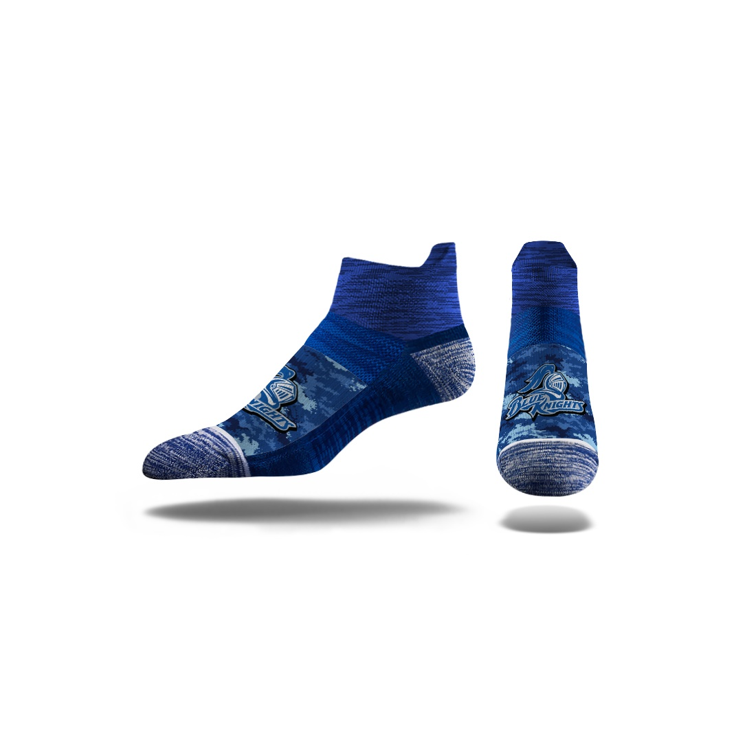 Image For DCTC SOCKS QUARTER BLUE