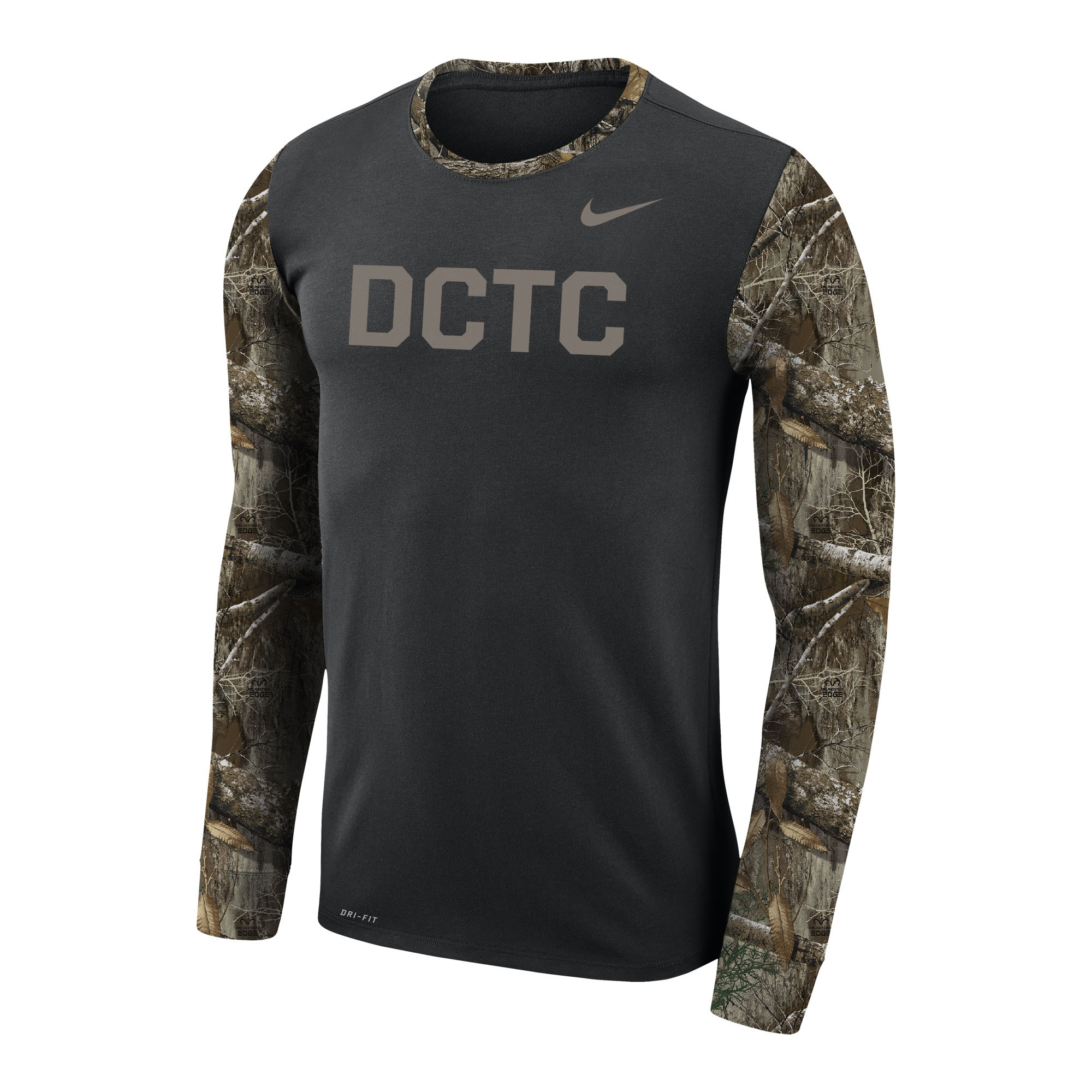 Cover Image For DCTC NIKE CAMO L/S TEE
