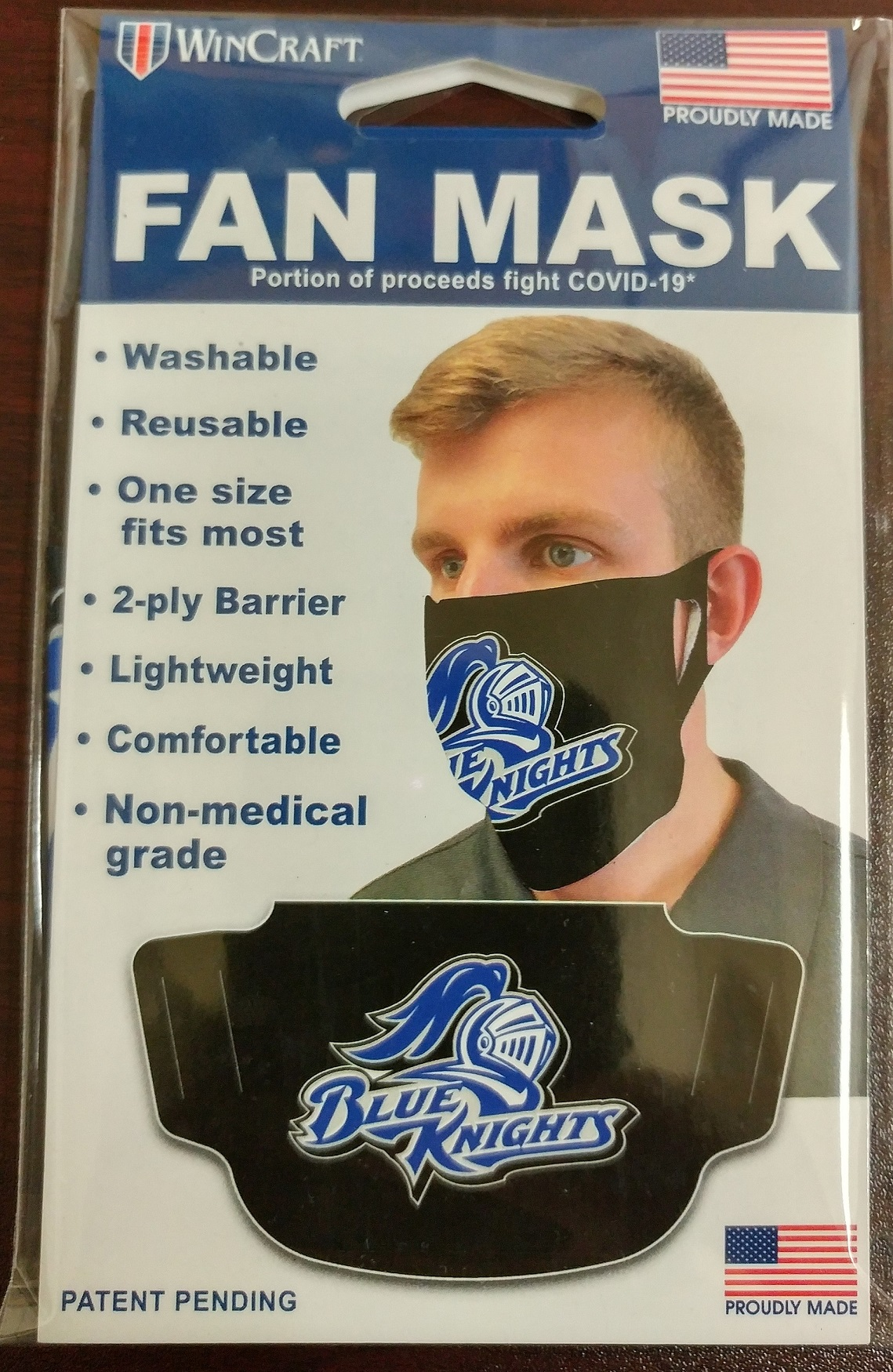 Image For DCTC BLUE KNIGHTS MASK